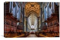 Salisbury Cathedral, Canvas Print