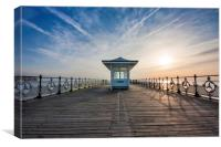 Swanage Pier Dorset, Canvas Print