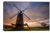Wilton windmill, Canvas Print