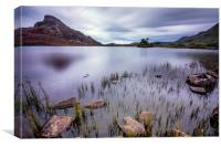 Cregennan Lakes north Wales, Canvas Print