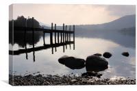 Derwent water Cumbria, Canvas Print