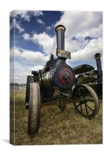 Traction Engine, Canvas Print