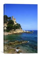 Sant Joan Castle, Canvas Print