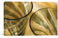 Champagne Glasses, Canvas Print