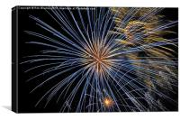 Firework Explosion, Canvas Print