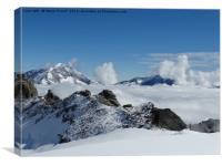 Swiss Alps, Canvas Print