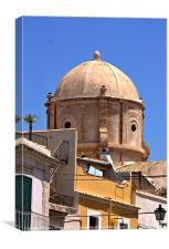 Duomo, Siracusa Sicily, Canvas Print