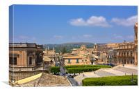 Noto Sicily in Miniature, Canvas Print
