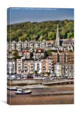 Weston Super Mare - The Old Town, Canvas Print