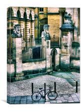 Oxford Heads, Canvas Print