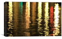Venice reflected, Canvas Print
