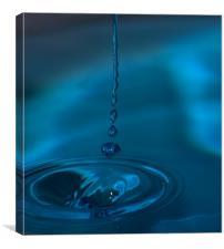 Blue Stream, Canvas Print