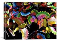 BIRDS OF PARADISE, Canvas Print