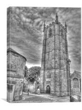 St. Ives Parish Church, Canvas Print