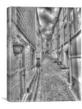 St. Ives Street, Canvas Print
