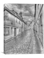 Henrietta Street Whitby, Canvas Print