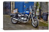 Motor Bike For Sale, Canvas Print
