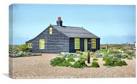 Prospect Cottage Dungeness, Canvas Print