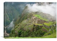 Machu Picchu, Canvas Print