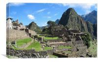 Machu Picchu 2, Canvas Print