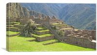 Machu Picchu 4, Canvas Print