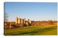 Leeds Castle Golf Course View, Canvas Print