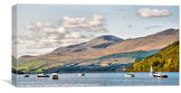 Loch Tay from Kenmore 2, Canvas Print