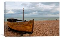 Dungeness Boat The Sparrow, Canvas Print