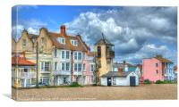 South Lookout Tower Aldeburgh, Canvas Print