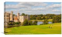 Leeds Castle Golf 2, Canvas Print