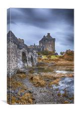 Eilean Donan Castle 3, Canvas Print