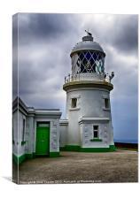 Pendeen Lighthouse, Canvas Print