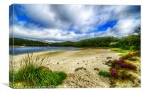 Silver Sands of Morar 3, Canvas Print