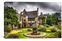 Scotney Gardens, Canvas Print