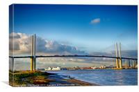 Queen Elizabeth ll Bridge 2, Canvas Print