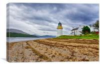 Corran Lighthouse, Canvas Print