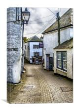 Fore Street Port Isaac, Canvas Print