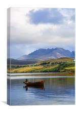 Loch Harport and the Cuillins, Canvas Print
