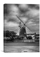 Stow Mill, Canvas Print