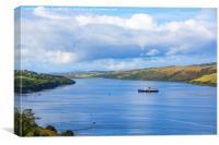 Loch Harport Isle of Skye, Canvas Print