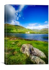 Kilchurn Castle Loch Awe, Canvas Print