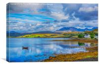 Loch Harport and the Cuillins 3, Canvas Print