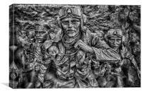 Battle of Britain Monument, Canvas Print
