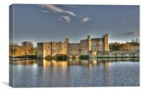 Late Afternoon at Leeds Castle, Canvas Print