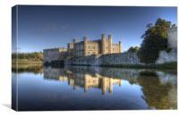 Leeds Castle Reflections 2, Canvas Print