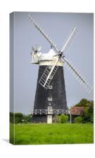 Tower Windmill, Canvas Print