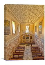 The Chapel at Holkham Hall, Canvas Print