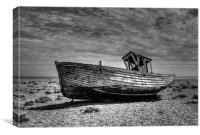 Dungeness Boat Days gone By, Canvas Print