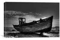 Dungeness Boat Days Gone, Canvas Print