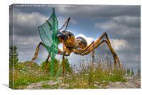 Alien Ant, Canvas Print